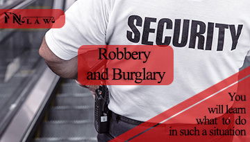 Robbery and Burglary Lawyer in New York